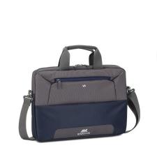 """RivaCase Notebook táska, 13,3-14""""  """"Suzuka 7727"""", acélkék-szürke kézitáska és bőrönd"""
