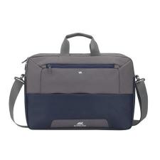 """RivaCase Notebook táska, 17,3""""  """"Suzuka 7757"""", acélkék-szürke kézitáska és bőrönd"""