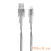RivaCase Rivapower VA6001 TR12 MFi Lightning cable 1.2m Transparent