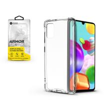ROAR Samsung A415F Galaxy A41 szilikon hátlap - Roar Armor Gel - transparent tok és táska