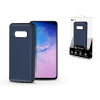 ROAR Samsung G970U Galaxy S10e szilikon hátlap - Roar Carbon Armor Ultra-Light Soft Case - kék