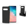 ROAR Samsung G975U Galaxy S10+ szilikon hátlap - Roar Carbon Armor Ultra-Light Soft Case - fekete