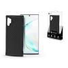 ROAR Samsung N975F Galaxy Note 10+ szilikon hátlap - Roar Carbon Armor Ultra-Light Soft Case - fekete