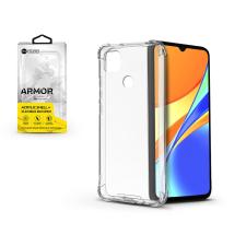 ROAR Xiaomi Redmi 9C szilikon hátlap - Roar Armor Gel - transparent tok és táska