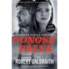 Robert Galbraith Gonosz pálya - filmes borítóval