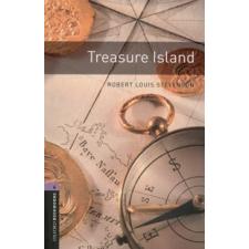 Robert Louis Stevenson OXFORD BOOKWORMS LIBRARY 4. - TREASURE ISLAND - AUDIO CD PACK * 3E idegen nyelvű könyv