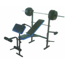 Robust Plus súlyzóspad + rúd + 35 kg súly edzőpad