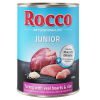 Rocco Junior 6 x 400 g - Pulyka & borjúszív + kalcium