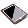 Rock Car Mounted autóülésre szerelhető bebújtatós bőr tok hálós tárolórésszel Apple iPad 2,  3,  4-hez barna*