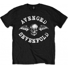 Rock Off Avenged Sevenfold Classic Deathbat Blk T Shirt: S