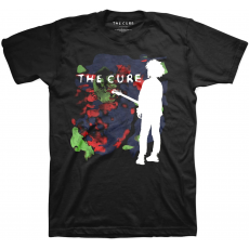 Rock Off The Cure Boys Don't Cry Mens Blk T Shirt: S