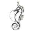 Ródiumozott csikóhal ezüst medál