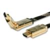 ROLINE Kábel HDMI Ethernet, Premium, 360° csatlakozó , M/M 2.0m