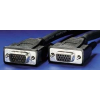 ROLINE kábel Monitor Hosszabbító VGA 15P-15M QUALITY 3m