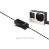 Rollei inLavMicro Plus mikrofon GoPro Hero 3/3+/4 akciókamerákhoz