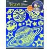 Room Decor Room-Decor falimatrica Világítós bolygók 38X31cm