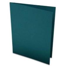 Rössler Papier GmbH and Co. KG Rössler B/6 karton  2 részes 120/240x169 mm 220gr. fenyő zöld boríték