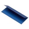 Rössler Papier GmbH and Co. KG Rössler ültetőkártya  100x100 mm 220gr. acél kék