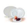"""ROTBERG Desszertes tányér, porcelán, 19 cm átmérőjű, ROTBERG, """"Basic"""", fehér"""