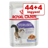 Royal Canin 44 + 4 ingyen! 48 x 85 g Royal Canin - Ultra Light aszpikban