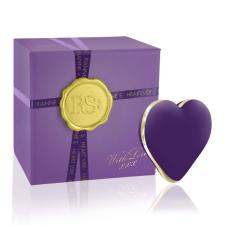 RS Icons Heart - akkus csikló vibrátor (lila) vibrátorok