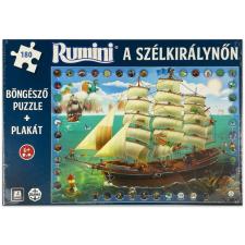 Rumini a Szélkirálynőn 180 darabos böngésző puzzle puzzle, kirakós