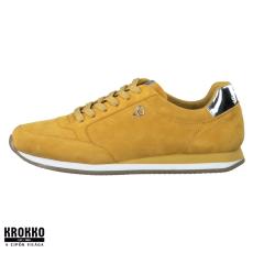 S.Oliver 005-23630-24-601 sárga fűzős sneaker sportcipő