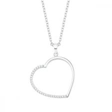 S.Oliver ékszer Női Lánc nyaklánc ékszer ezüst cirkónia szív 2027565 nyaklánc