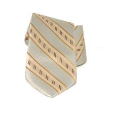 Saint Michael selyem nyakkendõ - Drapp csíkos nyakkendő