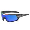 Salice 016 ITA kerékpáros szemüveg + fotokromatikus üveg + színválaszték Black - Blue