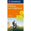 Salzburg és környéke kerékpártérkép - Kompass RWK 3204