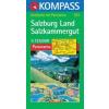 Salzburg tartomány / Salzkammergut panorámatérkép - Kompass AK 334