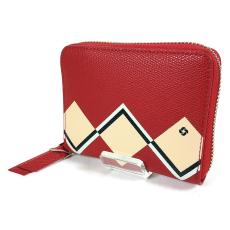SAMSONITE SERAPHINA SLG piros kis körzippes női pénztárca CD6*50*718