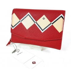 SAMSONITE SERAPHINA SLG piros közepes irattartós női pénztárca CD6*50*303