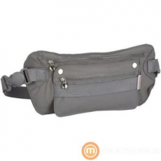 SAMSONITE Travel Accessories V/Kangaroo Waist Money Belt/Graphite