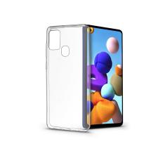 Samsung A217F Galaxy A21s szilikon hátlap - Soft Clear - transparent tok és táska