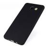 Samsung A510 Galaxy A5 (2016) fekete MATT vékony szilikon tok