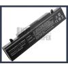Samsung AA-PB9NC5B 6600 mAh 9 cella fekete notebook/laptop akku/akkumulátor utángyártott