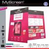 Samsung Ative S i8750, Kijelzővédő fólia, MyScreen Protector, Clear Prémium, szennyeződés- és baktériummentes, 1 db / csomag
