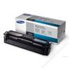 Samsung CLT-C504S Lézertoner CLP 415, CLX 4195 nyomtatókhoz, SAMSUNG kék, 1,8k (TOSAM415C)