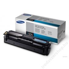Samsung CLT-C504S Lézertoner CLP 415, CLX 4195 nyomtatókhoz, SAMSUNG kék, 1,8k (TOSAM415C) nyomtatópatron & toner