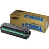 Samsung CLT-C505L  Lézertoner SL-C2620DW, SL-C2670FW nyomtatókhoz, SAMSUNG, cián, 3,5k