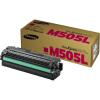 Samsung CLT-M505L Lézertoner SL-C2620DW, SL-C2670FW nyomtatókhoz, SAMSUNG, vörös, 3,5k