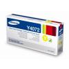 Samsung CLT-Y4072S Lézertoner CLP 320, 325 nyomtatókhoz, SAMSUNG sárga, 1k
