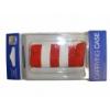 Samsung EF-CF07 gyári zoknitok fehér-narancssárga (6300)*