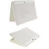 Samsung EFC-1C9NIECSTD oldalra nyíló támasztós szövetbevonatos gyári tok P7300 Galaxy Tab 8.9-hez krémszínű**