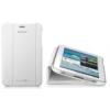 Samsung EFC-1G5SWE oldalra nyíló támasztós szövetbevonatos gyári tok fehér (P3100 Galaxy Tab 2 7.0)*