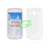 Samsung G3502 Galaxy Trend 3,Core Plus fehér szilikon tok