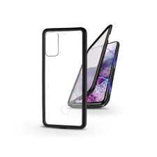 Samsung G985F Galaxy S20+ mágneses, 2 részes hátlap előlapi üveggel - Magneto 360 - fekete tok és táska