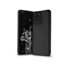 Samsung G988F Galaxy S20 Ultra szilikon hátlap - Soft Premium - fekete tok és táska